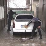 FLUX MARE DE MAȘINI LA SPĂLĂTORII – VIDEO