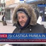 ÎȘI CÂȘTIGĂ PÂINEA ÎN FRIG – VIDEO