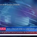 MOȘ CRĂCIUN VINE CU UNIFORME LA POLIȚIȘTI – VIDEO