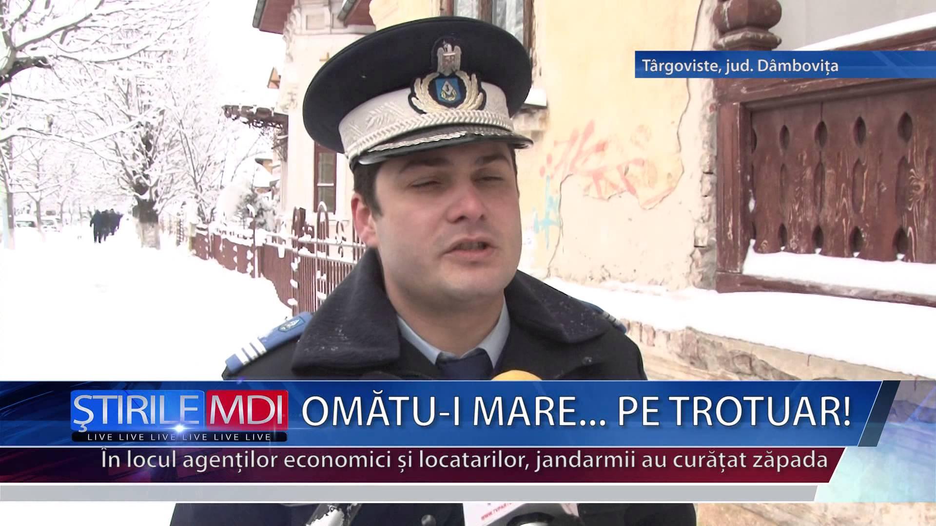 OMATU-I MARE… PE TROTUAR!