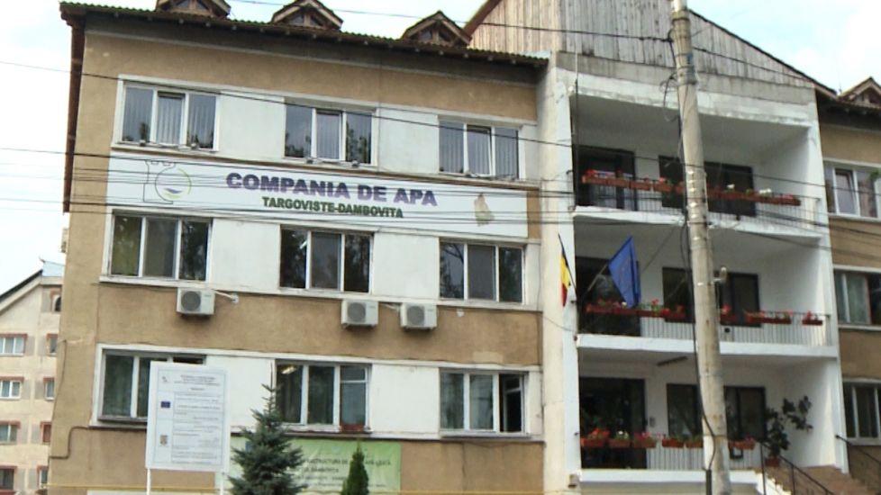 COMPANIA DE APĂ TÂRGOVIȘTE-DÂMBOVIȚA ANGAJEAZĂ!