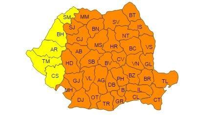 ROMÂNIA ÎNGHEAȚĂ – COD PORTOCALIU DE GER