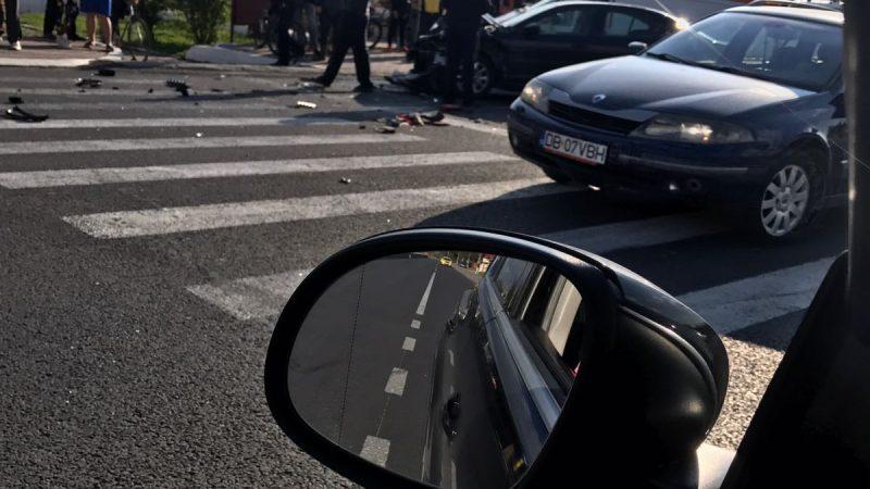 ACCIDENT IN FATA POSTULUI DE POLITIE TARTASESTI