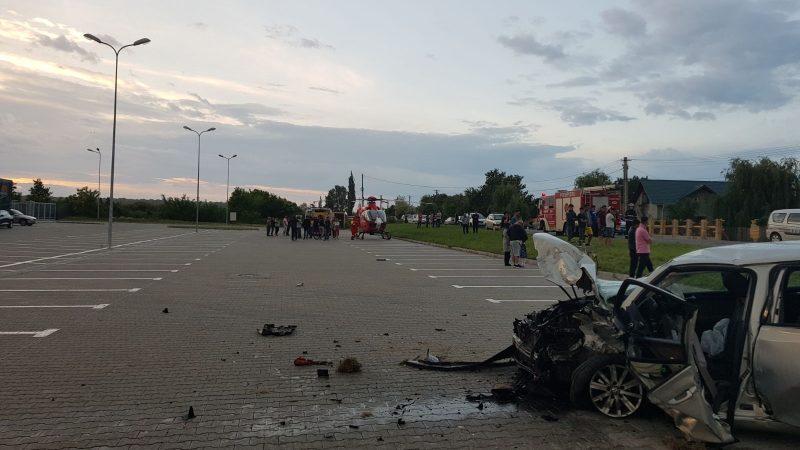 ACCIDENT GRAV PE DN1A, LA CREVEDIA! CINCI VICTIME, PRINTRE CARE DOI COPII