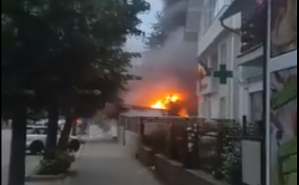 EXPLOZIE ÎN PITEȘTI -VIDEO!