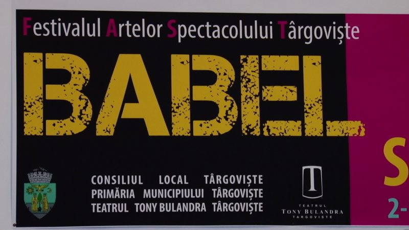FESTIBALUL BABEL 2017 LA FINAL