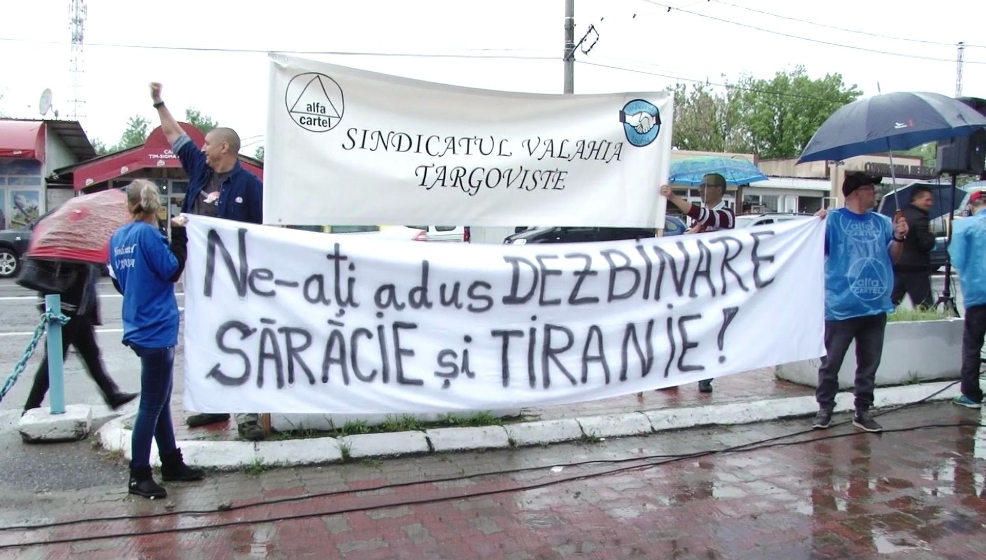 UN NOU PROTEST LA C.O.S. TÂRGOVIŞTE