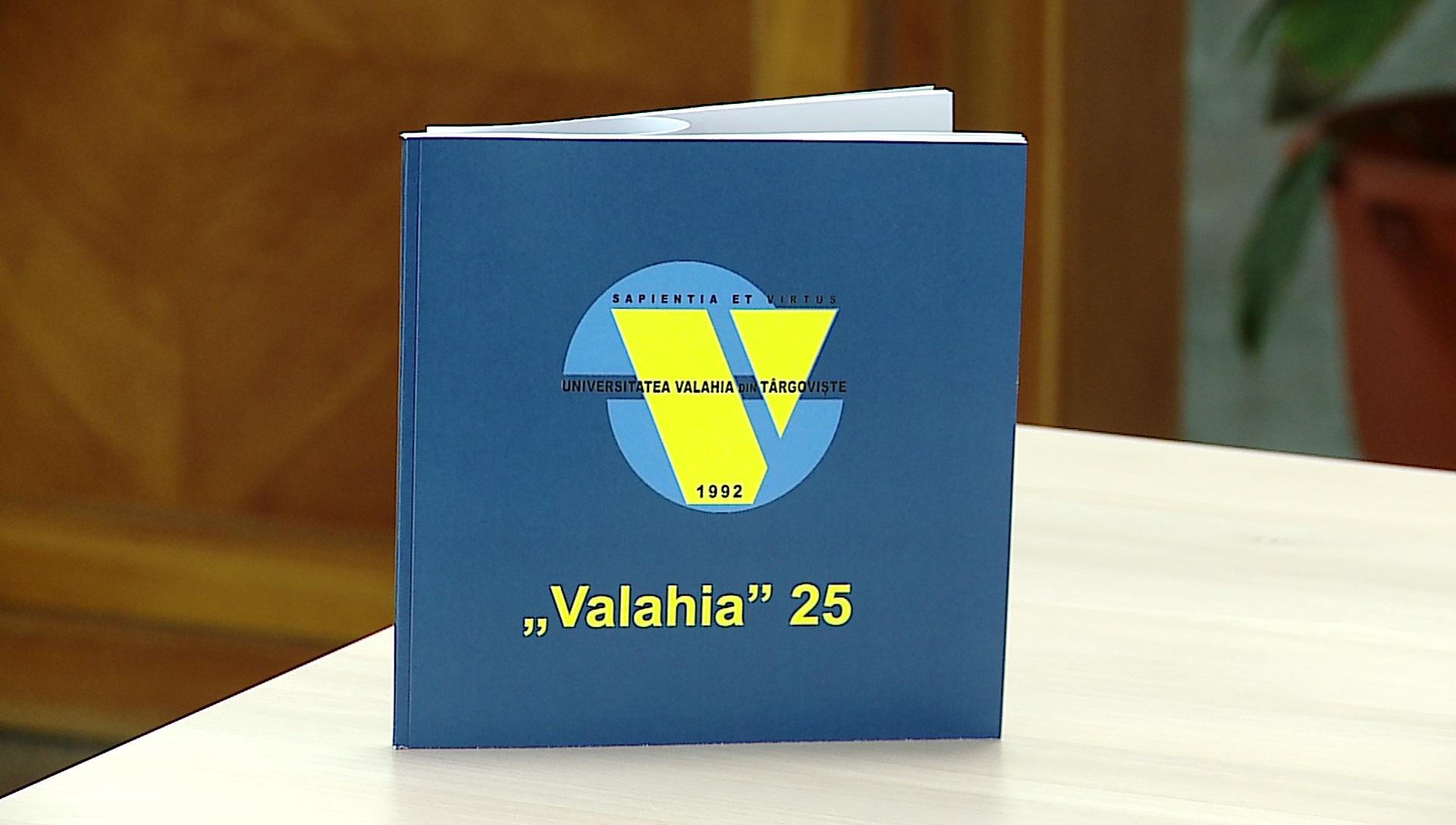 UNIVERSITATEA VALAHIA LA A 25-A ANIVERSARE