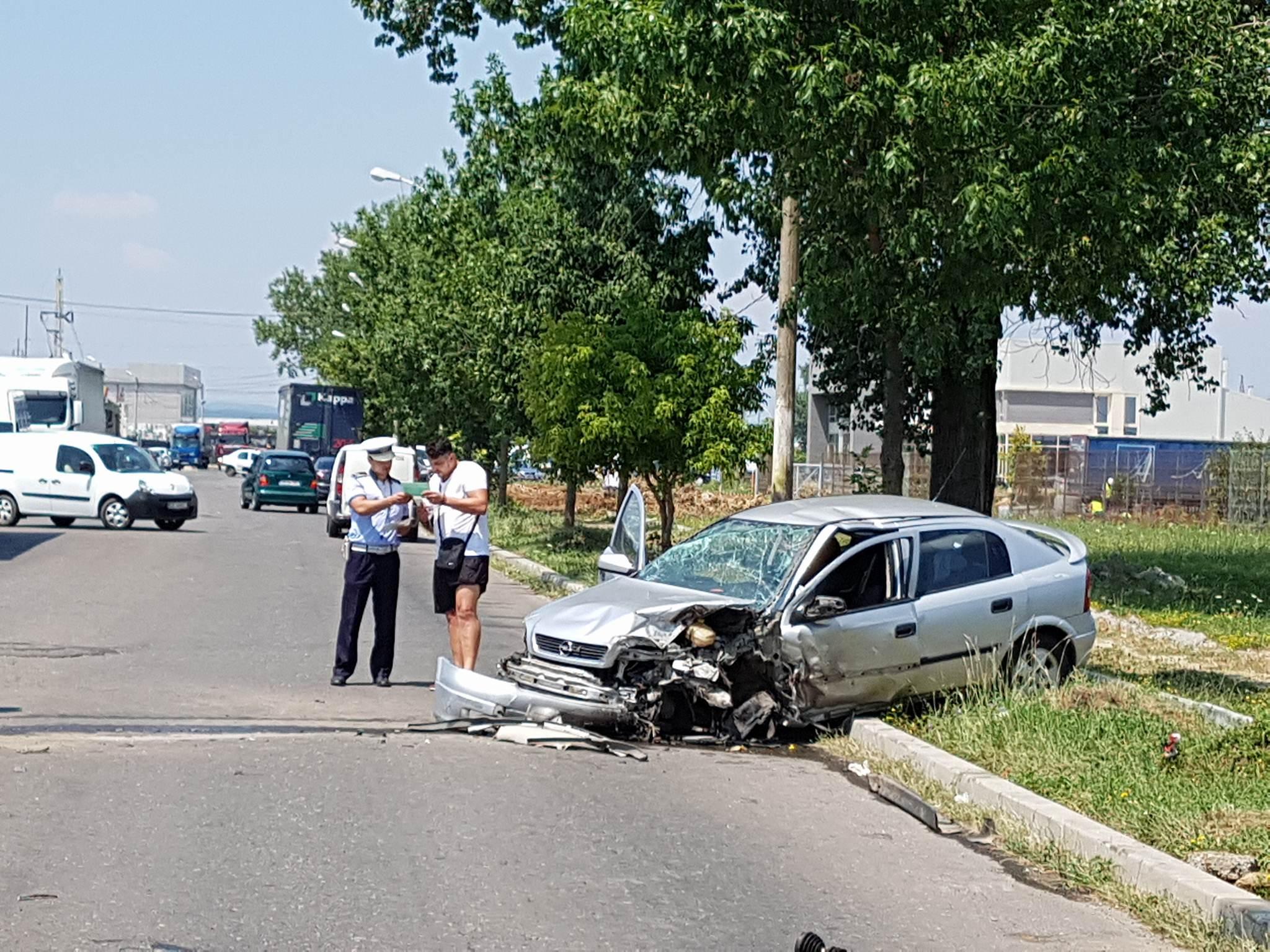 ACCIDENT PE CENTURA TÂRGOVIȘTEI! VIDEO!