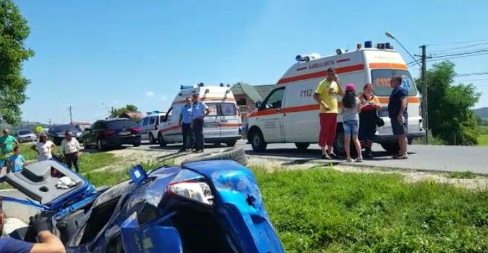 COPIL, IMPLICAT ÎNTR-UN ACCIDENT GRAV
