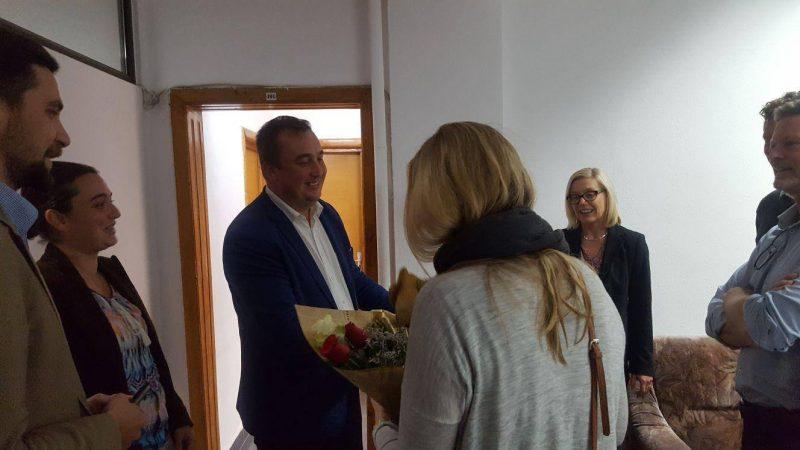 DELEGAȚIE SUEDEZĂ LA AJPIS DÂMBOVIȚA