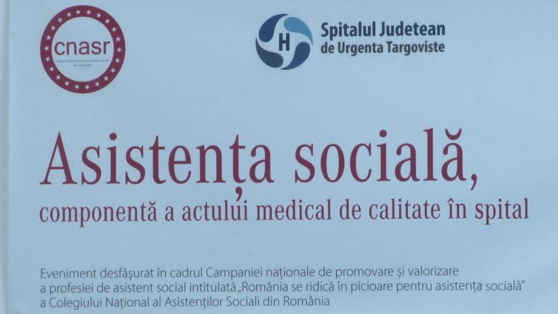"""ASISTENŢII SOCIALI, """"MÂNGÂIEREA"""" BOLNAVILOR"""