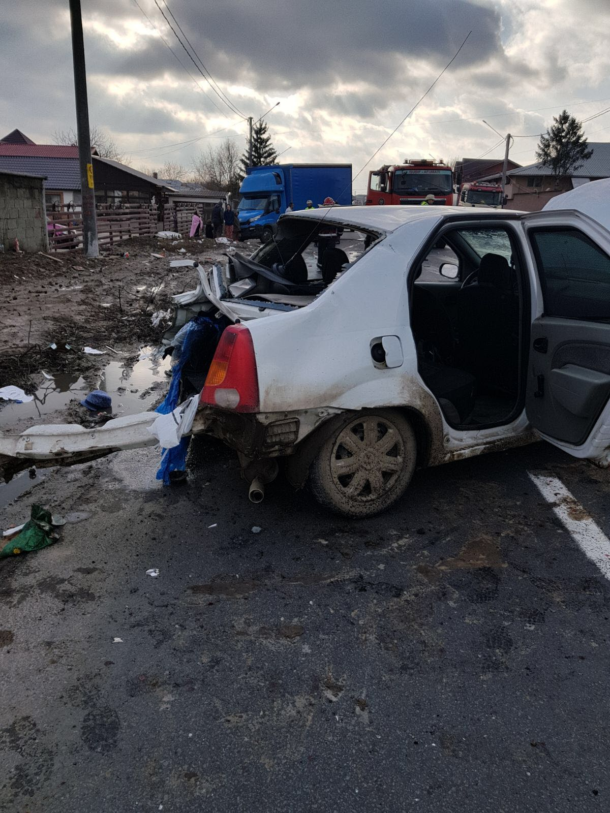 ACCIDENT GRAV LA ȘINDRILIȚA