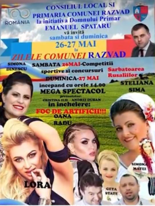 DOUĂ ZILE DE SĂRBĂTOARE LA RĂZVAD