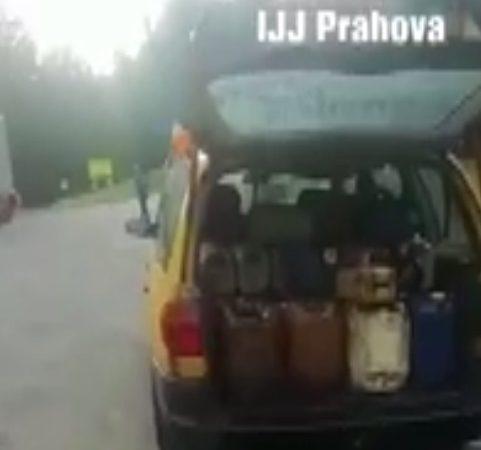 FURA MOTORINĂ DIN TIR