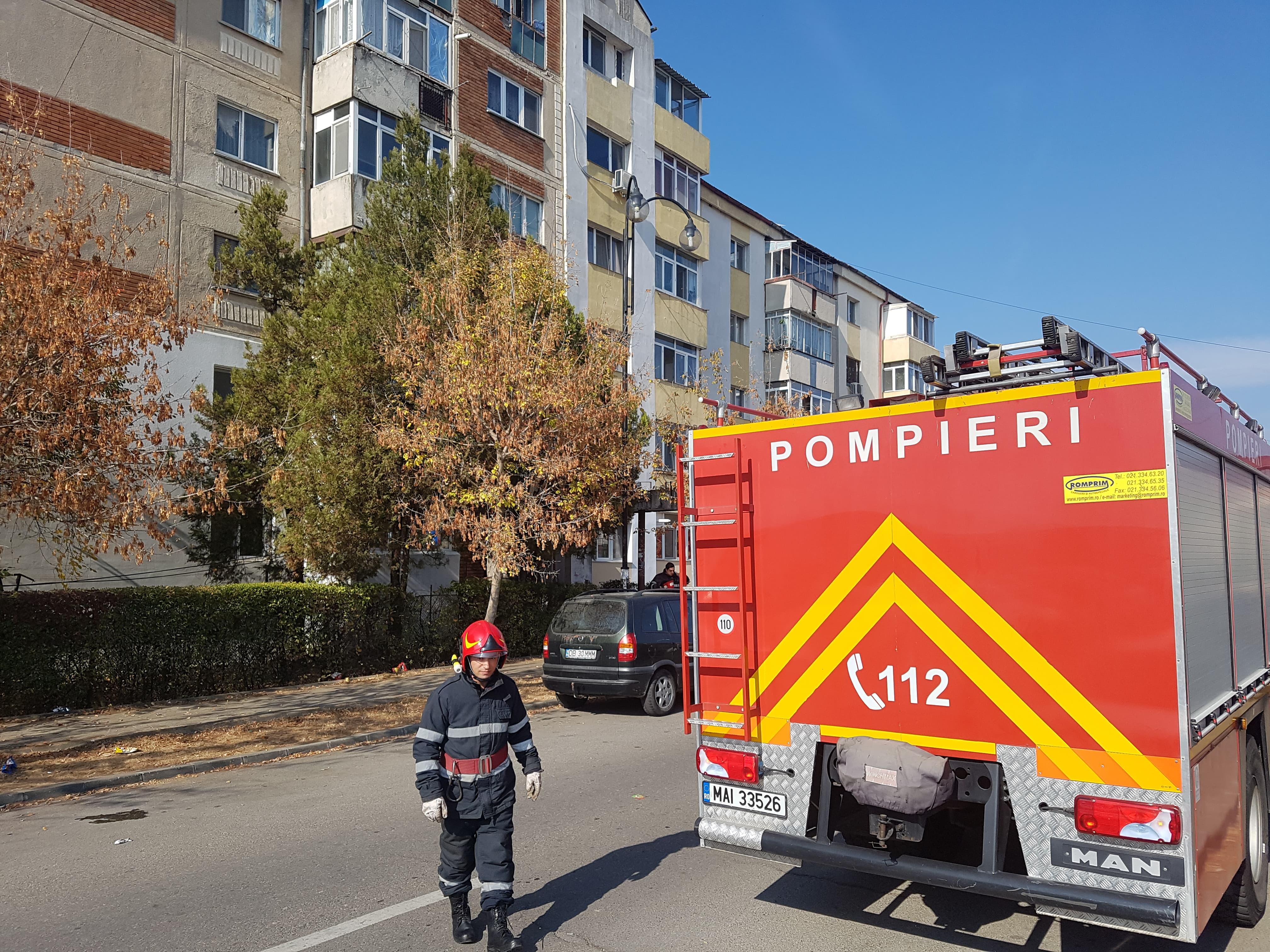 """A PUS PE """"JAR"""" POMPIERII ȘI POLIȚIA, PENTRU O CEARTĂ BANALĂ CU SOȚUL"""