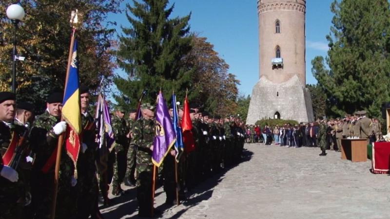 ZIUA ARMATEI, SĂRBĂTORITĂ LA POALELE TURNULUI CHINDIA