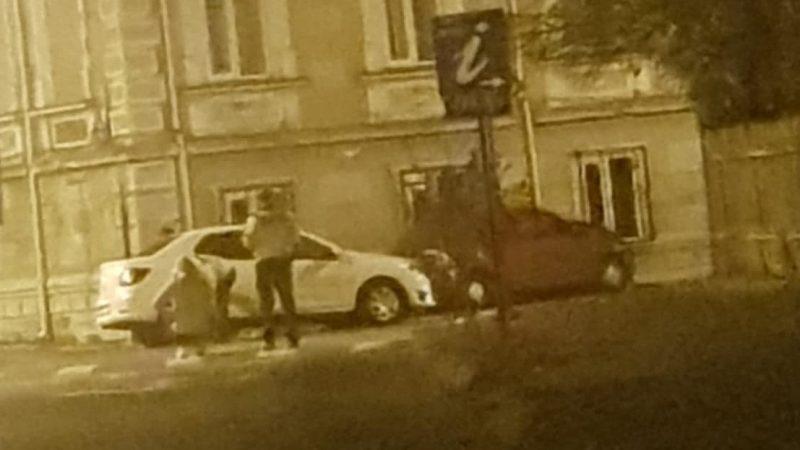 ACCIDENT ÎN TÂRGOVIȘTE! O PERSOANĂ A FOST RĂNITĂ