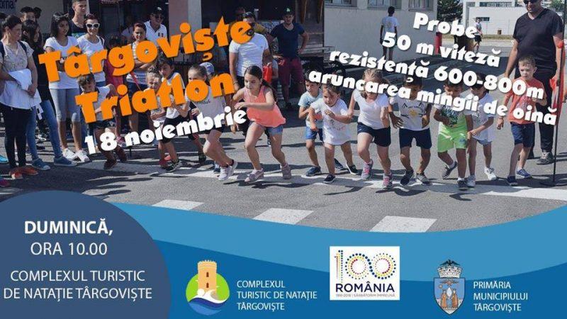 "PRIMA EDIȚIE ""TÂRGOVIȘTE TRIATLON"""