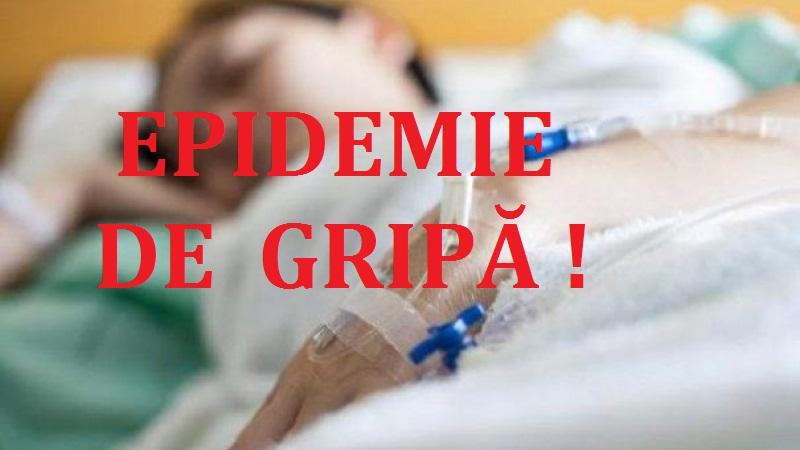 ALERTĂ ÎN DÂMBOVIȚA! 140 DE PERSOANE SUSPECTE DE GRIPĂ!