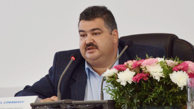 DANIEL COMĂNESCU NU MAI ESTE PREȘEDINTELE CONSILIULUI JUDEȚEAN DÂMBOVIȚA