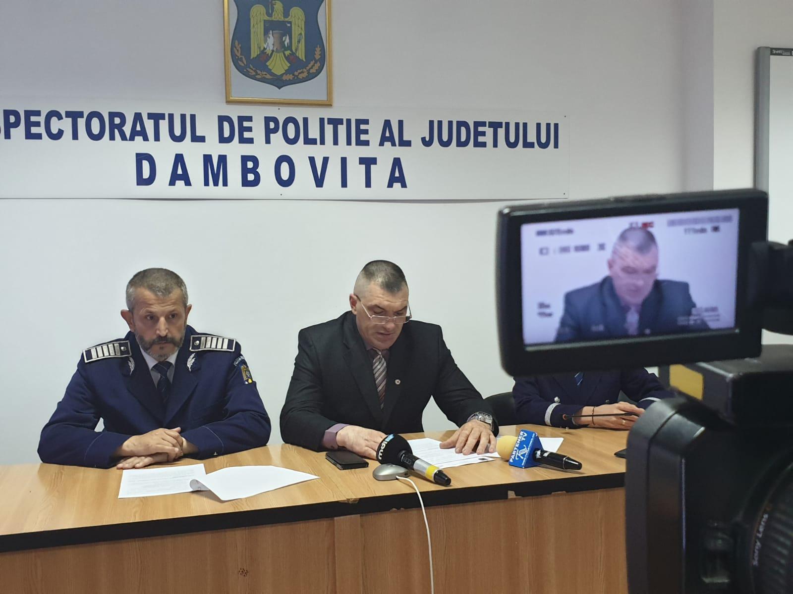 BILANȚ LA IPJ DÂMBOVIȚA