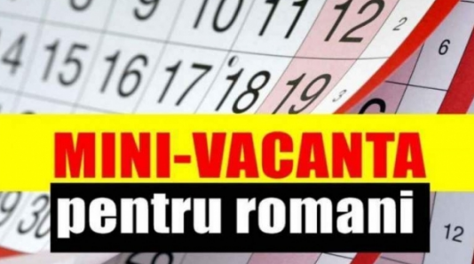O NOUĂ MINI-VACANȚĂ PENTRU BUGETARI