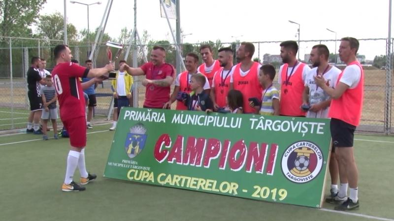 CAMPIONII CUPEI CARTIERELOR LA FOTBAL, PREMIAȚI