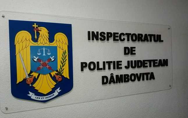 O NOUĂ NUMIRE ÎN CONDUCEREA INSPECTORATULUI DE POLIȚIE DÂMBOVIȚA