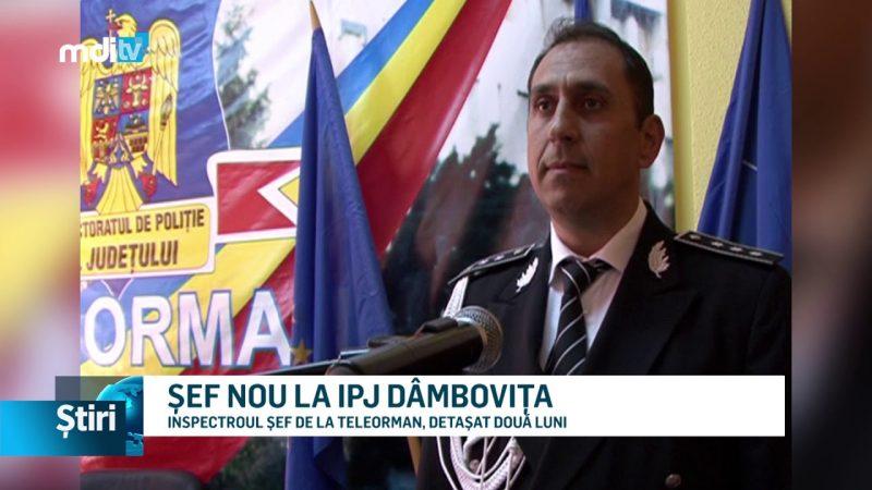 ȘEF NOU LA IPJ DÂMBOVIȚA