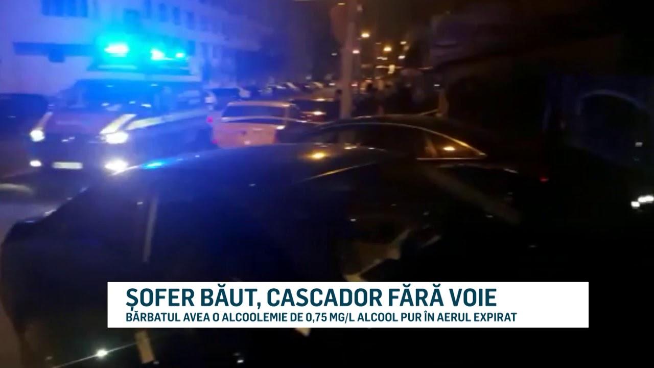 ȘOFER BĂUT, CASCADOR FĂRĂ VOIE