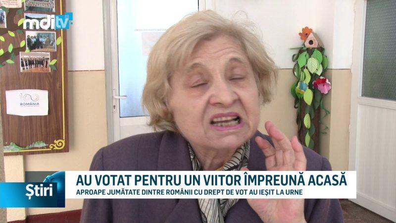 AU VOTAT PENTRU UN VIITOR ÎMPREUNĂ ACASĂ