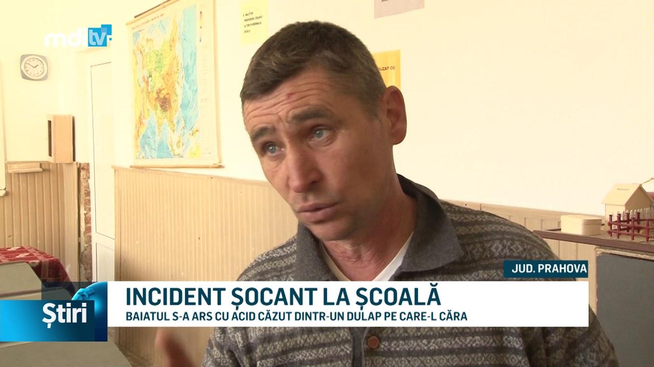 INCIDENT ȘOCANT LA ȘCOALĂ