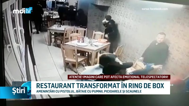 RESTAURANT TRANSFORMAT ÎN RING DE BOX