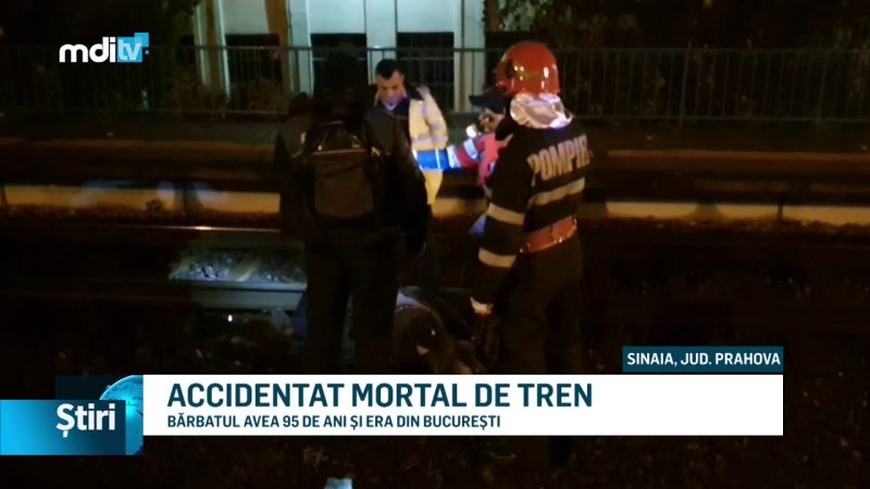 ACCIDENTAT MORTAL DE TREN