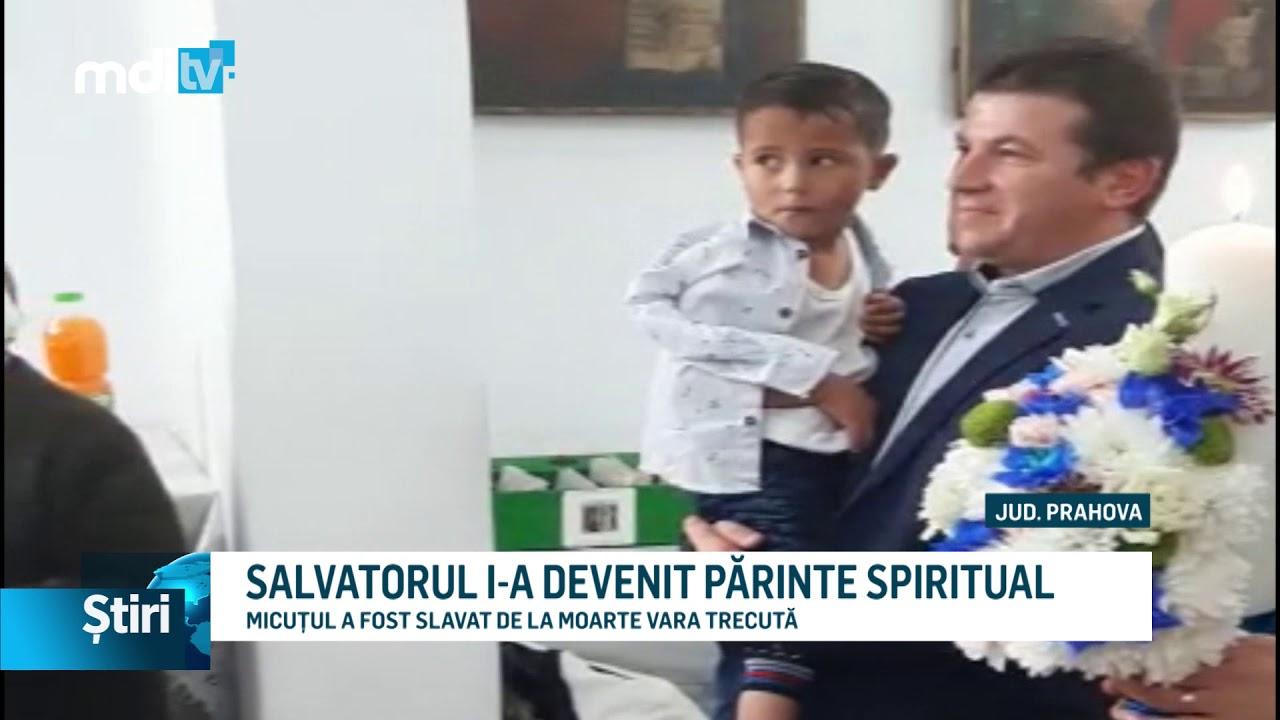 SALVATORUL I-A DEVENIT PĂRINTE SPIRITUAL
