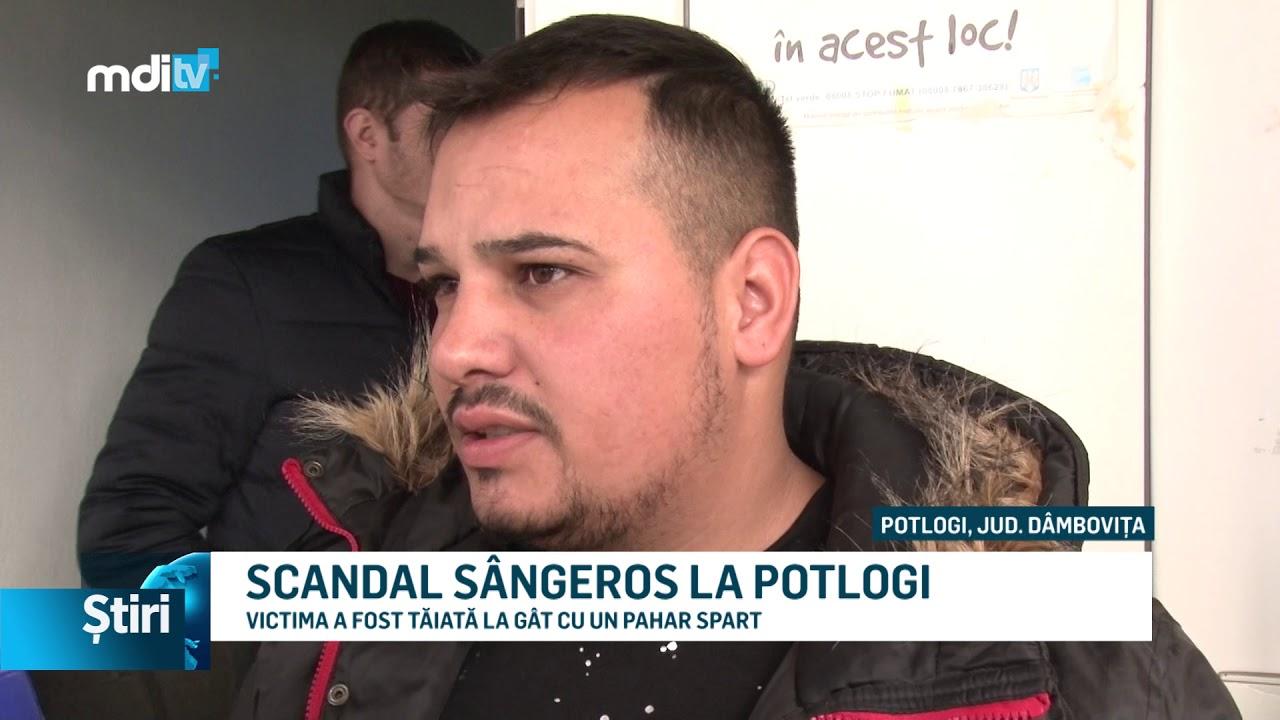 SCANDAL SÂNGEROS LA POTLOGI