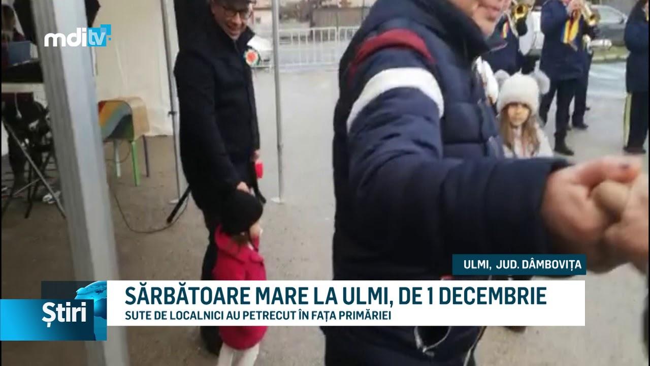 SĂRBĂTOARE MARE LA ULMI, DE 1 DECEMBRIE
