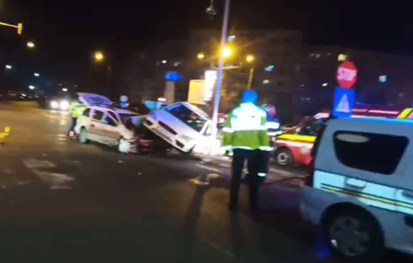 ACCIDENT SPECTACULOS ÎN ALEXANDRIA