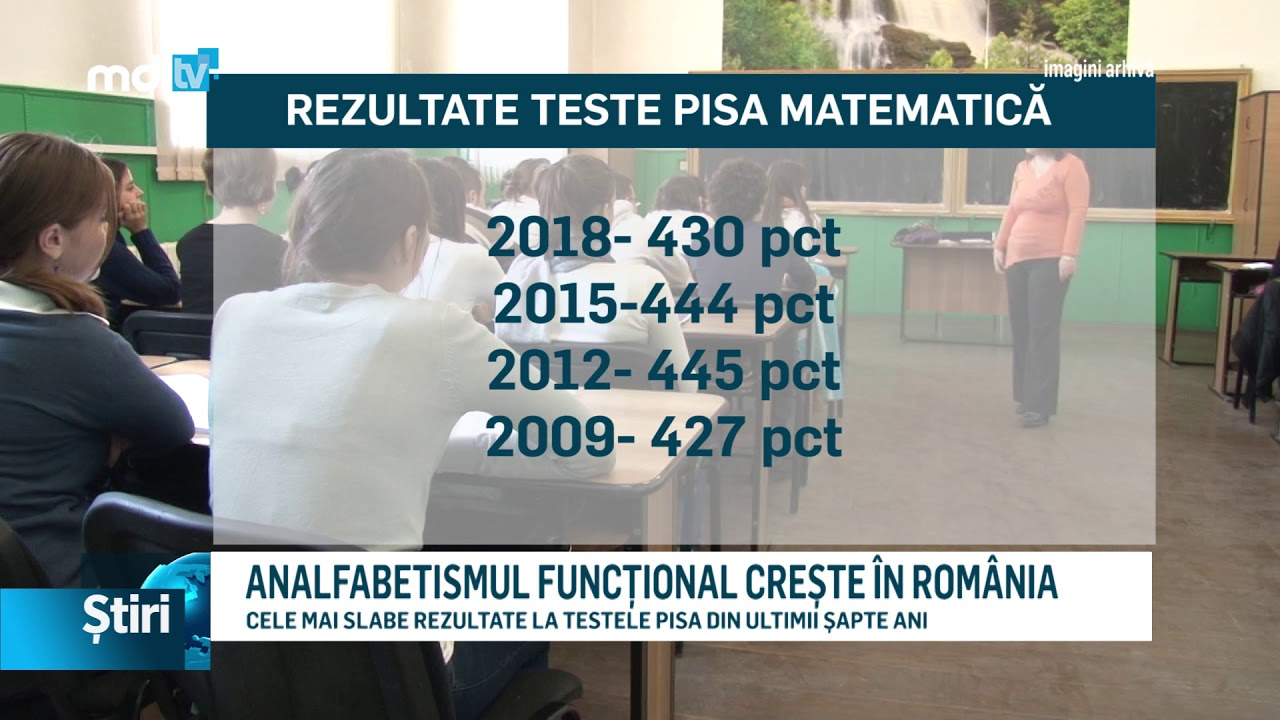 ANALFABETISMUL FUNCȚIONAL CREȘTE ÎN ROMÂNIA