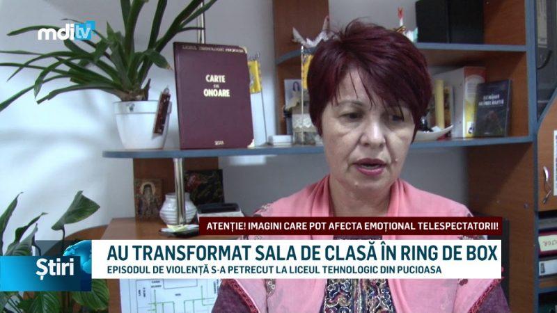 AU TRANSFORMAT SALA DE CLASĂ ÎN RING DE BOX