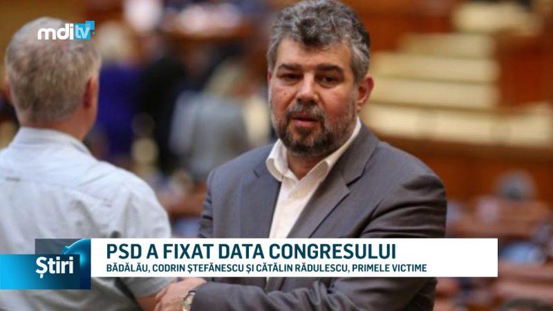 PSD A FIXAT DATA CONGRESULUI