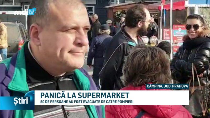 PANICĂ LA SUPERMARKET