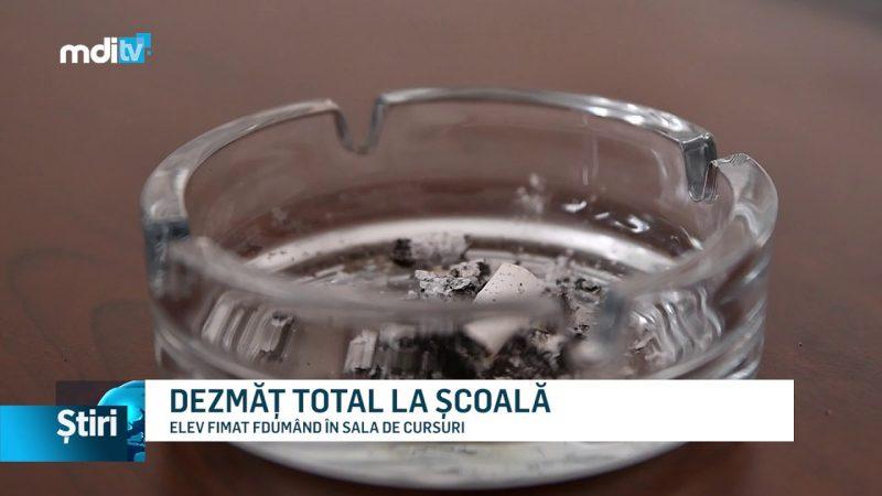 DEZMĂȚ TOTAL LA ȘCOALĂ