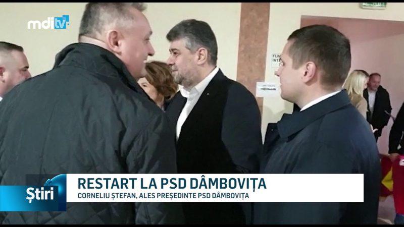 RESTART LA PSD DÂMBOVIȚA