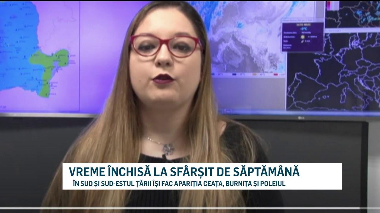 VREME ÎNCHISĂ LA SFÂRȘIT DE SĂPTĂMÂNĂ