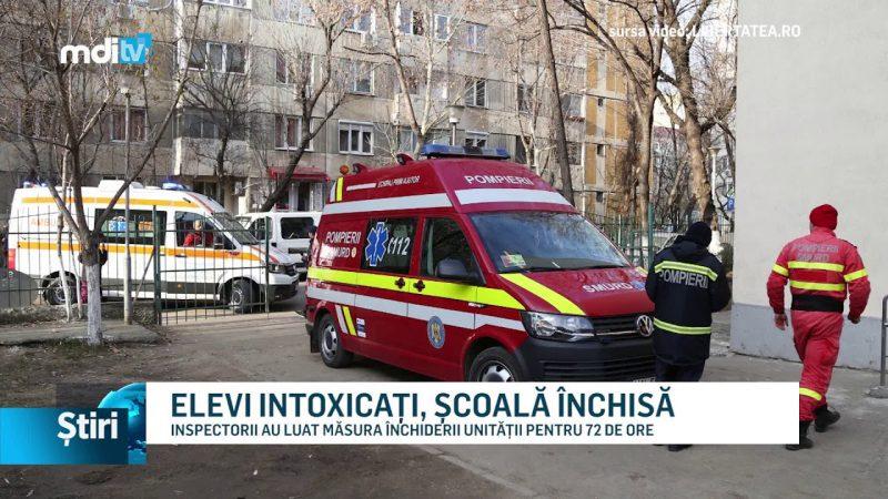 ELEVI INTOXICAȚI, ȘCOALĂ ÎNCHISĂ