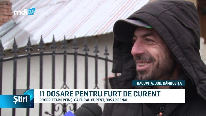 11 DOSARE PENTRU FURT DE CURENT