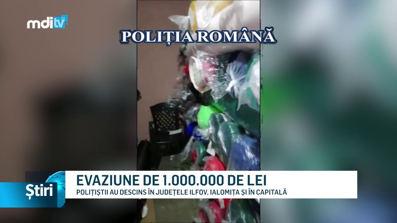EVAZIUNE DE 1.000.000 DE LEI