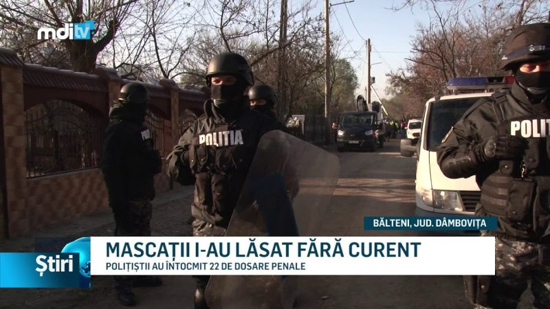 MASCAȚII I-AU LĂSAT FĂRĂ CURENT